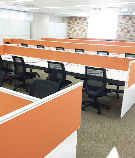 行政機関と同じ志を共有し、佐世保市の発展にも貢献したいと新センターを開設。